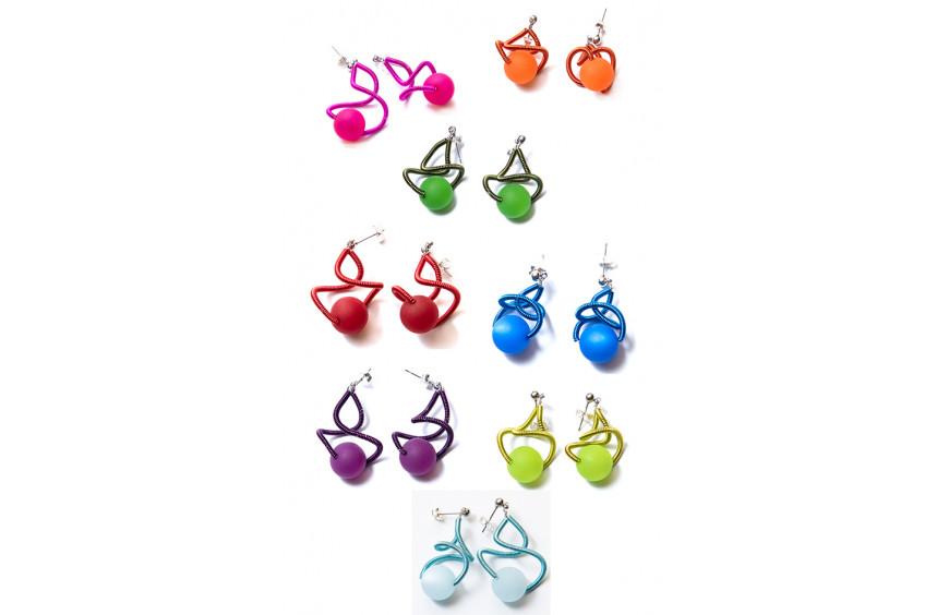 Sandrine Giraud newest Satellite earrings